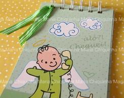Lembran�a Cadernetinha Baby Menino