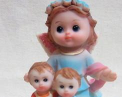 Anjo da Guarda Imag. Resina Kids 11cms