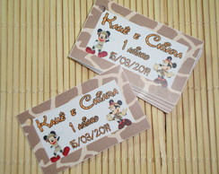 Tags Lembrancinhas Mickey Minnie Safari