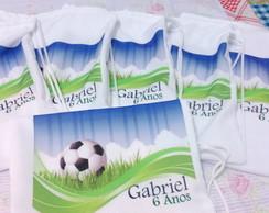 Mochilinha Personalizada Futebol