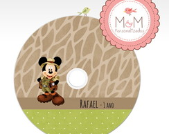 DVD Personalizado - Mickey Safari