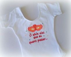 Camiseta, Body ou Collant - Carnaval
