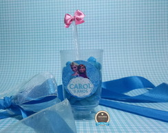 Mini Ta�a Decorada Frozen