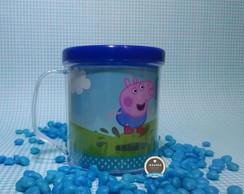 Caneca Acr�lica personalizada George Pig