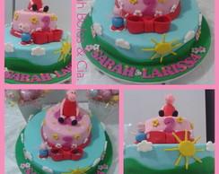 Pippa Pig - Bolo e Pop cake