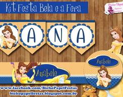 Kit Festa Bela e a Fera