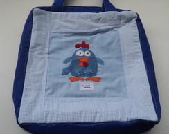 Bolsa Galinha Pintadinha Azul