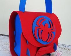 mini mochilinha homem aranha