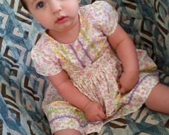 Faixa de cabelo BABY p�rolas rosa beb�