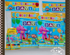 Revista Kit colorir Pocoyo