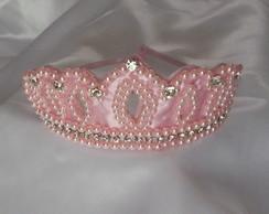 Tiara Coroa Princesa Rosa