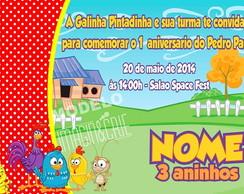 Conv digital Galinha Pintadinha-ref 0302