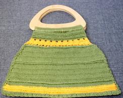 Bolsa de Croch� ( al�a de madeira )