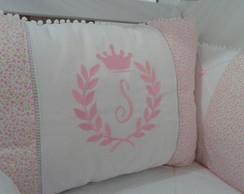 Kit Ber�o rosa coroa