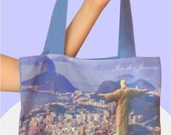 Bolsa Sacola Rio de Janeiro - Tam 30x40
