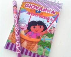 Bloquinho Personalizado com l�pis - Dora