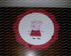 Quadrinho Decorativo Peppa Pig
