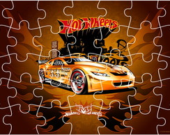 Quebra Cabe�a - Hot Wheels