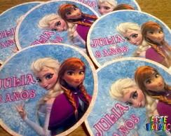 Tags Adesivos Personalizados Frozen