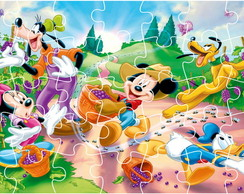 Quebra Cabe�a - Turma do Mickey