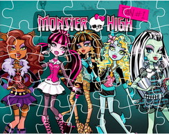 Quebra Cabe�a - Monster High