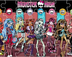 Quebra Cabe�a - Monster High