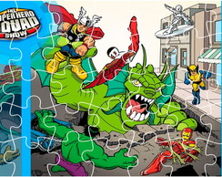 Quebra Cabe�a - Super Hero Squad