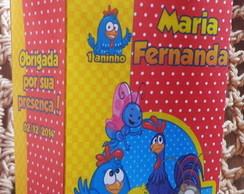 Sacolinha Personalizada Galinha Pintadi