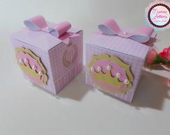 Caixa cubo Tema Princesa