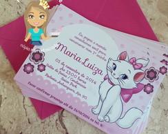 Convite de Anivers�rio Gatinha Marie