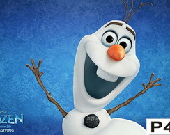 Painel Frozen Olaf