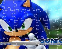 Quebra Cabe�a - Sonic