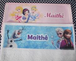 Toalha escolar Frozen