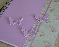 Caderno Universit�rio decorado