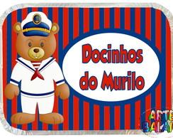 Marmitinha Festa Urso Marinheiro! Linda!