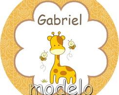 Adesivo 5x1 - Girafinha
