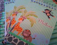 Bloquinho Personalizado - Safari Baby