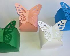 Caixa fecho borboleta