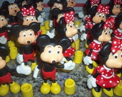 Porta l�pis Mickey e Minnie.