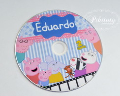 CD ou DVD Personalizado - PEPPA