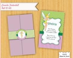 Convite Envelope Especial Tinkerbell