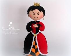 Rainha de Copas - Tema Alice em Feltro