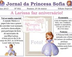 Convite | Arte digital Princesa Sofia