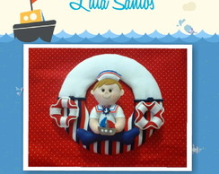 Enfeite Maternidade - Menino marinheiro
