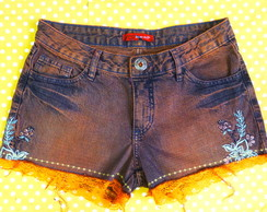 *** short jeans customizado 40