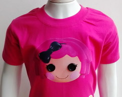 Camiseta Infantil Lalaloopsy Crumbs Suga