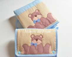 Kit Passeio Urso Sentado 2 pe�as
