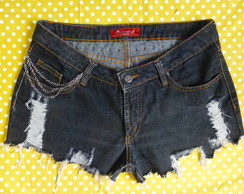 short jeans customizado 42 lovely lolla