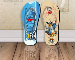 Chinelo Personalizado One Piece