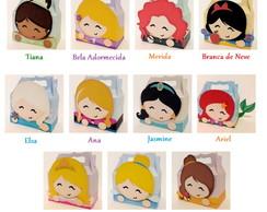 Caixa Cute - Princesas Disney